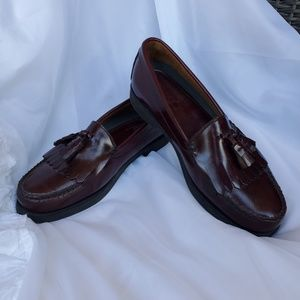 Mens Bass Weegun tassel loafers